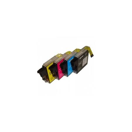BROTHER LC 985 Amarillo Compatible