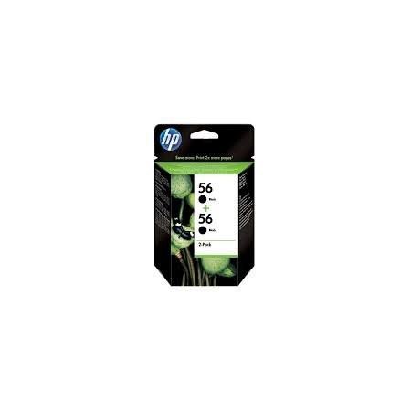 HP 56 C9502AE Pack de 2