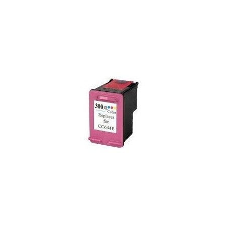 HP 300 XL Color CC644 Compatible