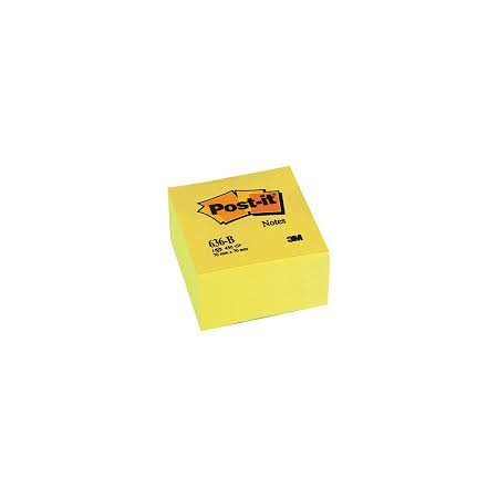 Block de notas Post-it 76X76 Cubo 450 h