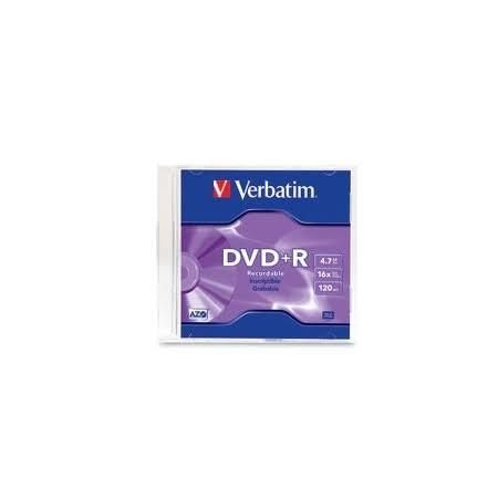 DVD VERBATIM INDIVIDUAL +R (1)