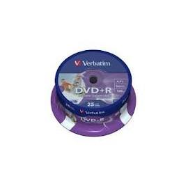 DVD VERBATIM TARRINA 25 +R