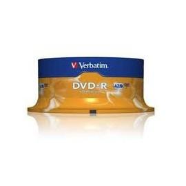 DVD VERBATIM TARRINA 25 -R