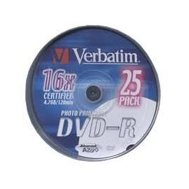 DVD VERBATIM PRINTABLE -R TARRINA 25