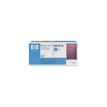 HP Q6471 A Cyan