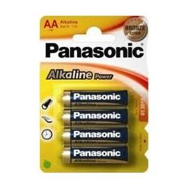 PILAS LR6 PANASONIC (4) AA