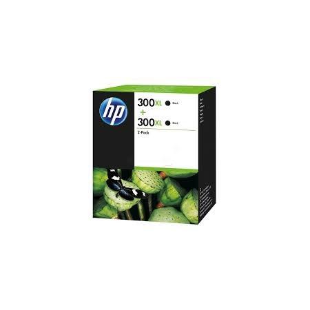 HP 300 XL Pack 2 Negro D8J43