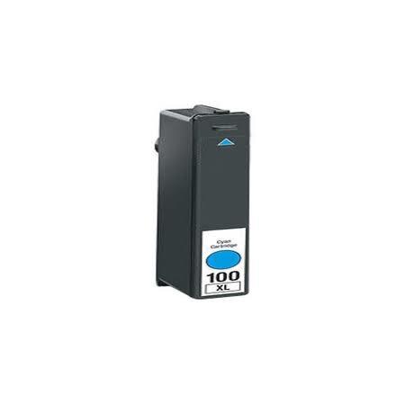 LEXMARK 100 XL Cyan Compatible