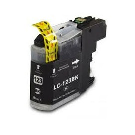 BROTHER LC 123 Negro Compatible