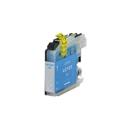 BROTHER LC 123 Cyan Compatible