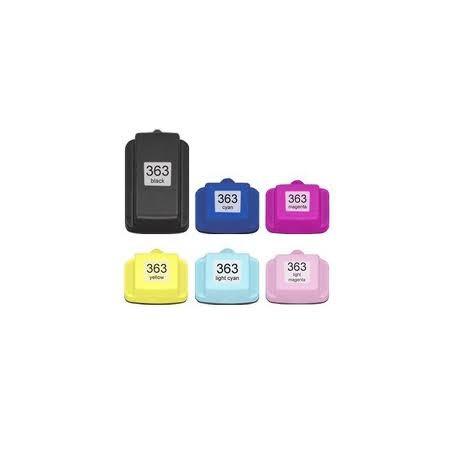 HP 363 C8774 Cyan Claro Compatible