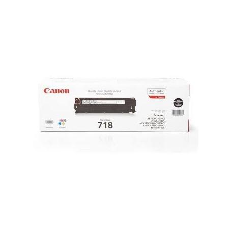 CANON 718 TONER Negro a 86,00 euros