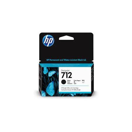 HP 712 Negro 3ED70A