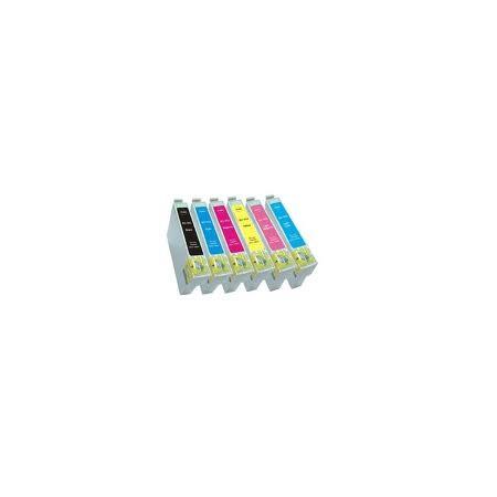 EPSON T0804 Amarillo Compatible