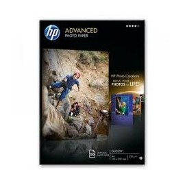 PAPEL FOTOGRAFICO HP ADVANCED A-4 250 G (50h) Ref Q8698A