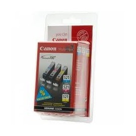 CANON CLI 521 Pack Color ( M/C/Y )