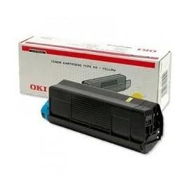 OKI C3100 / TYPE C6L Amarillo Ref 42804513