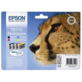 OFERTA EPSON T0715 Pack a 39,00 euros