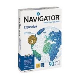 PAPEL 90 gramos Navigator A4 a 4,40 euros paquete